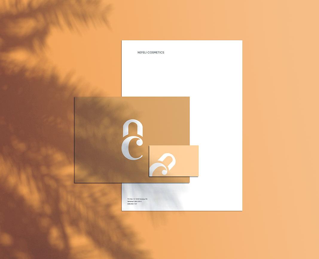 Brand Stationery Design - Beauty Brand